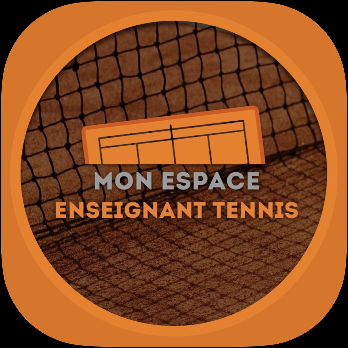 logo mon espace enseignant tennis